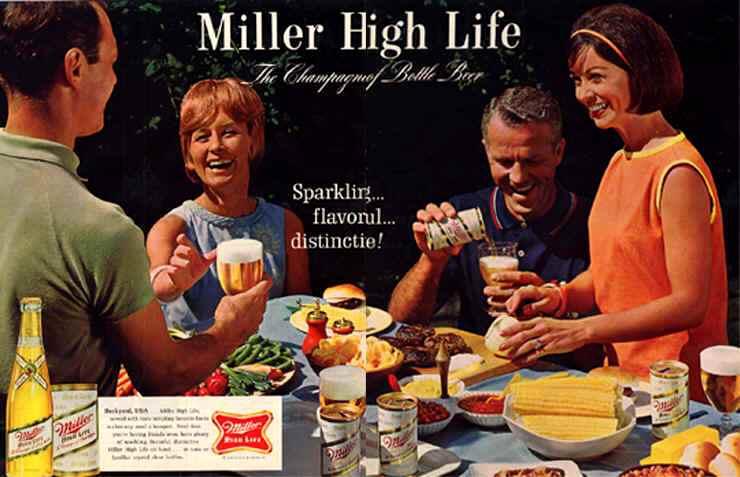 Vintage Beer Ads, Atomic Pin-Up